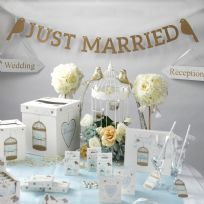 To Have And To Hold Just Married Bunting
